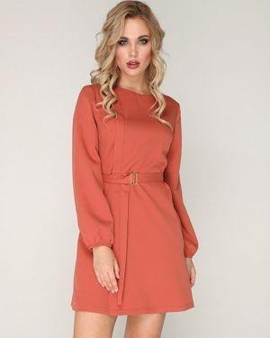Платье с поясом на молнии платье-сарафан Ellcora