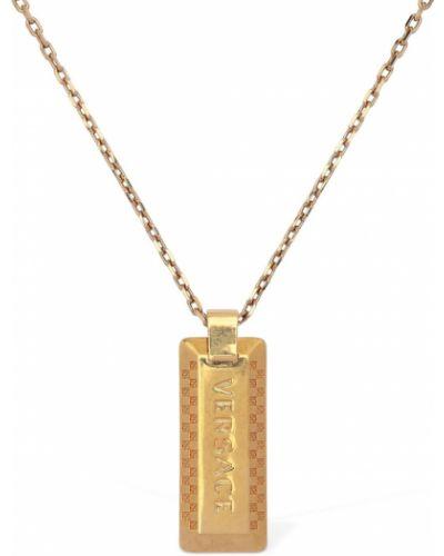 Złoty naszyjnik vintage Versace