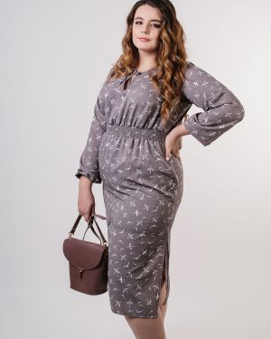 Платье с поясом платье-сарафан из вискозы Jetty-plus