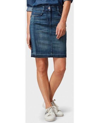 Джинсовая юбка осенняя Tom Tailor