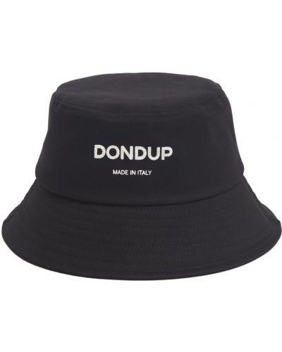 Czarny kapelusz Dondup