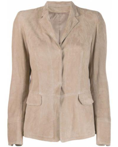 Приталенный пиджак - бежевый Sylvie Schimmel