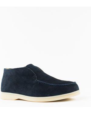 Ботинки замшевые замшевые Vensi