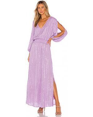 Платье макси с люрексом с бисером Sundress