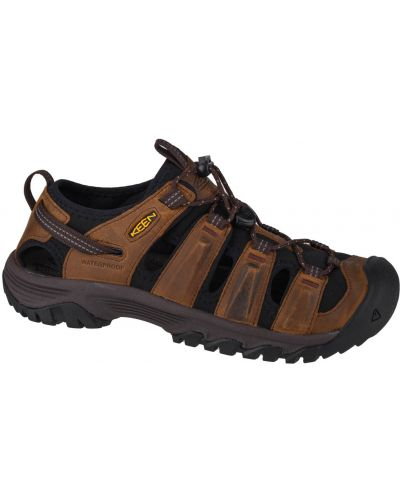 Brązowe sandały skórzane Keen