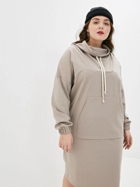 Платье - бежевое Gorda Bella