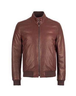 Куртка демисезонная бордовый Corneliani