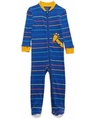 Piżama z długimi rękawami - niebieska Little Me