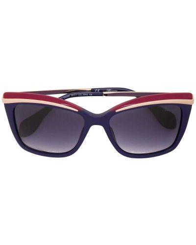 Синие солнцезащитные очки Blumarine