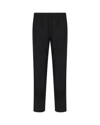 Черные прямые брюки Gsd