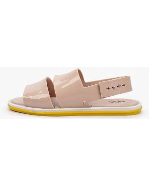 Спортивные сандалии бежевые Melissa
