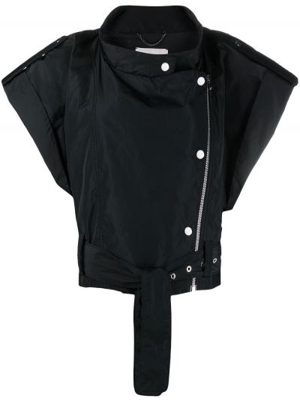 Czarna krótka kurtka krótki rękaw Dorothee Schumacher