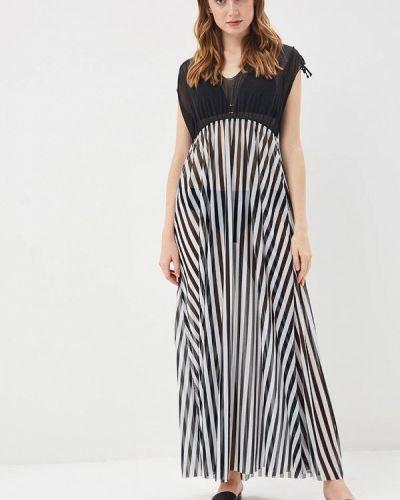 Пляжное платье черное Charmante
