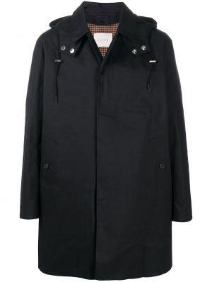 Пальто с капюшоном - черное Mackintosh