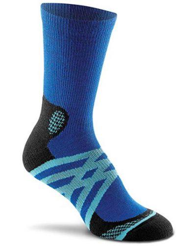 Синие шерстяные спортивные носки Foxriver