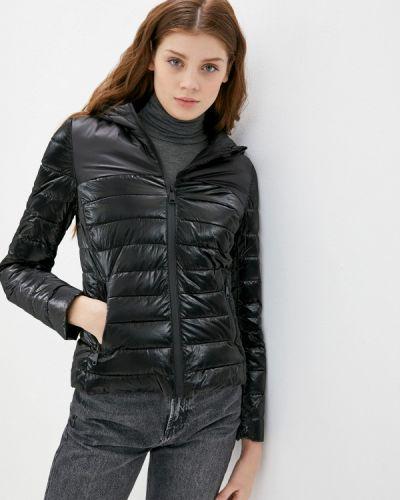 Черная утепленная куртка B.style