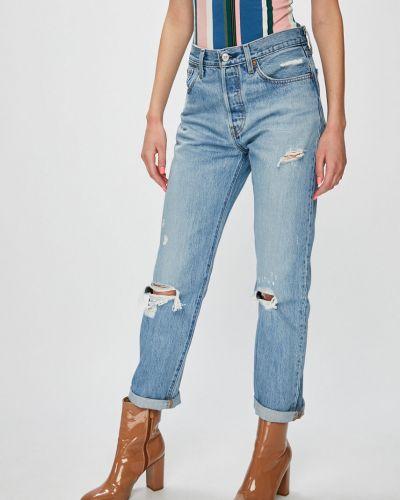 Прямые джинсы синие на пуговицах Levi's®