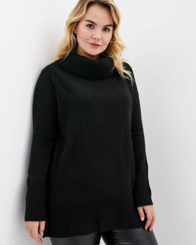 Черный свитер Over