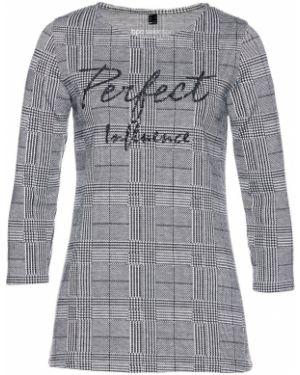 Блузка с пайетками с вышивкой Bonprix