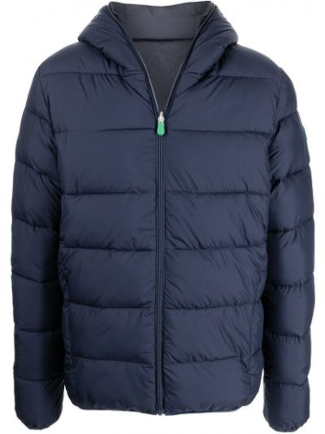 Стеганая куртка - синяя Save The Duck