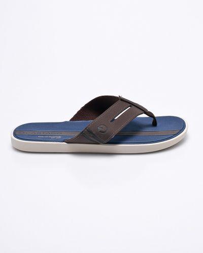 Коричневые льняные сандалии Cartago
