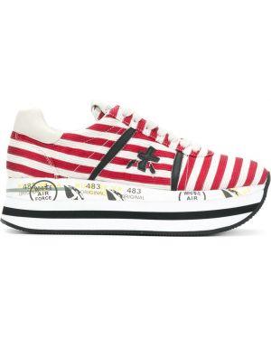 Кожаные кроссовки белый Premiata
