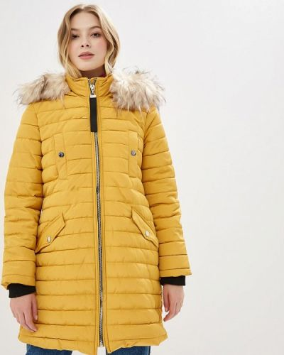 Утепленная куртка - желтая Bruebeck