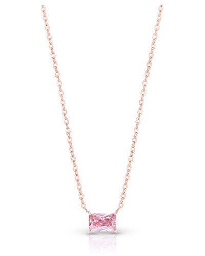 Naszyjnik - różowy W.kruk