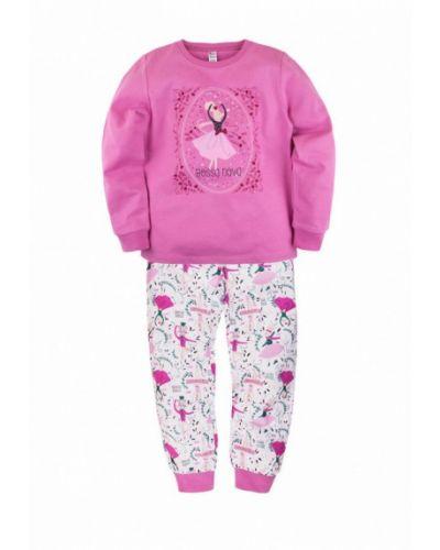 Пижама розовый белая Bossa Nova