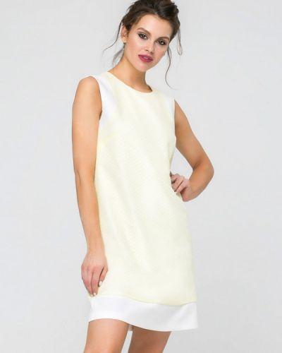 Прямое желтое платье Yulia'sway