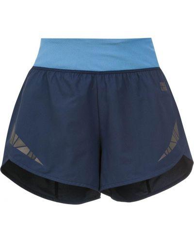 Синие спортивные шорты эластичные Track & Field