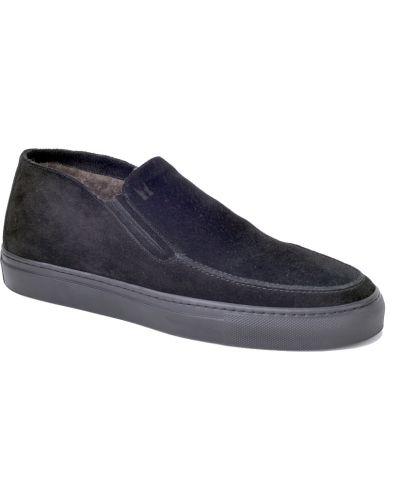 Ботинки - черные Moreschi