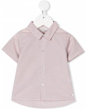Klasyczna klasyczna koszula krótki rękaw bawełniana Baby Dior