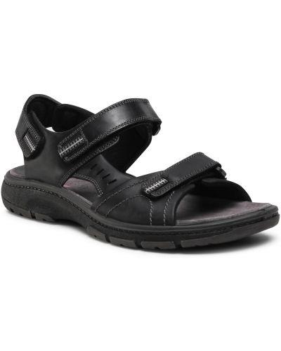 Sandały casual - czarne Go Soft