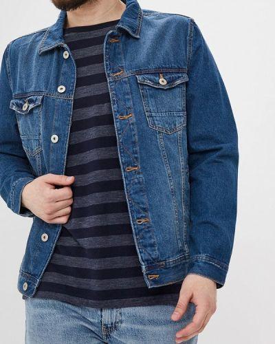 Джинсовая куртка синяя Ostin