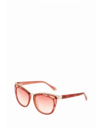 Муслиновые розовые солнцезащитные очки Enni Marco