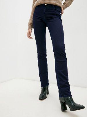Синие зимние джинсы Trussardi