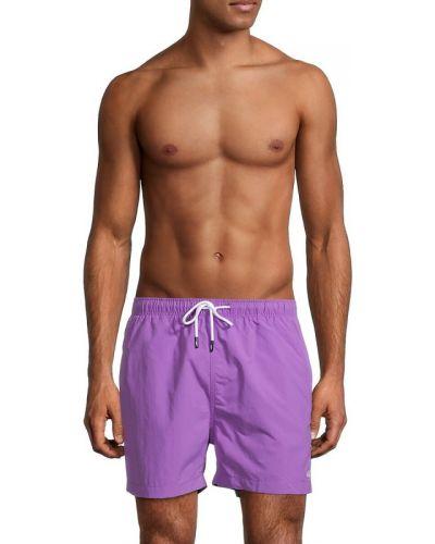 Шорты для плавания - фиолетовые Solid & Striped