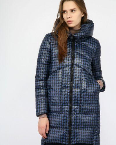 Утепленная куртка - синяя Monton