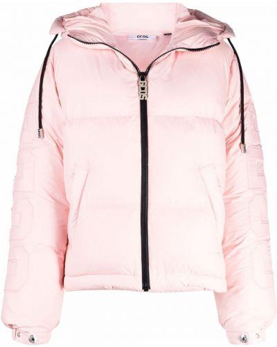 Розовая куртка с воротником Gcds