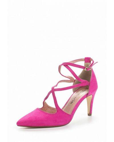 Розовые туфли с застежкой на лодыжке Tamaris
