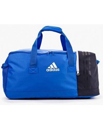 Синяя спортивная сумка Adidas