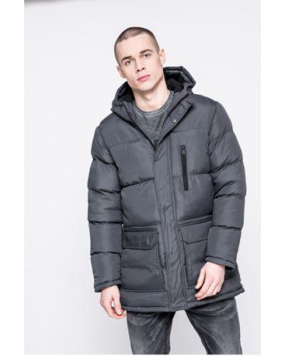 Утепленная куртка с капюшоном стеганая Brave Soul