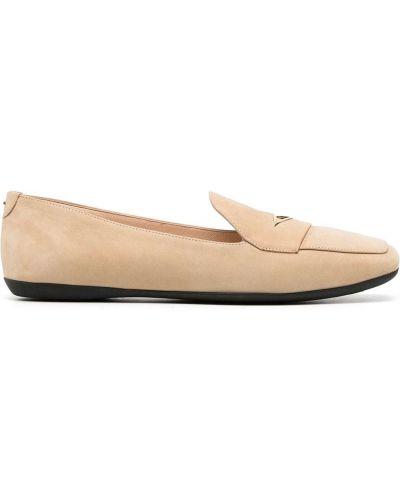 Loafers, beżowy Nicholas Kirkwood