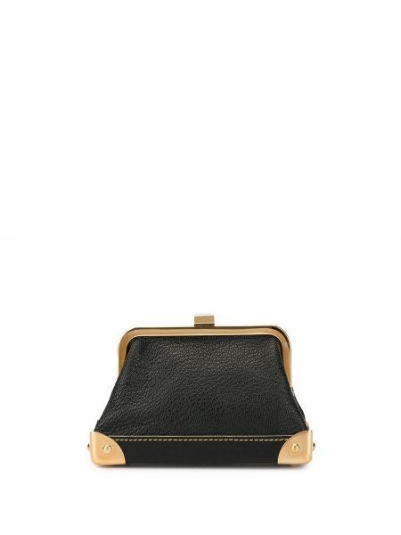 Черный кожаный кошелек Louis Vuitton Pre-owned
