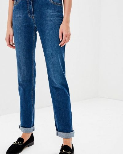 Синие прямые джинсы Gerry Weber
