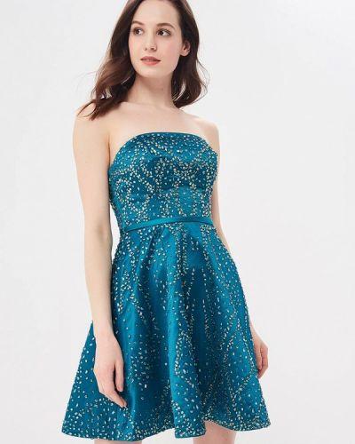 Бирюзовое вечернее платье Vestetica