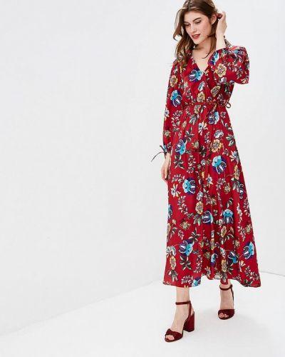 Платье с длинными рукавами осеннее Naf Naf
