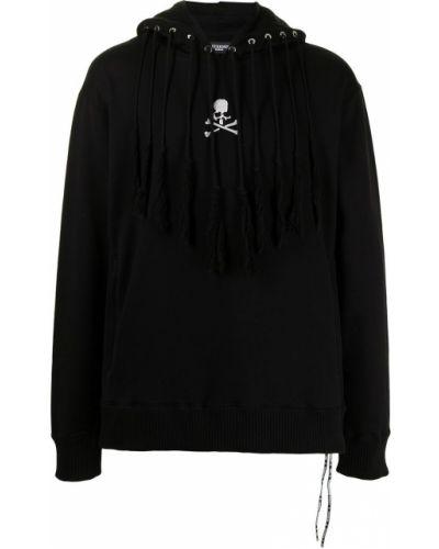 Czarna bluza z frędzlami Mastermind World