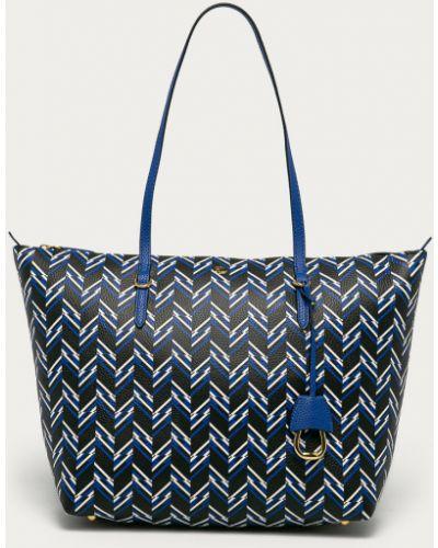 Niebieska torebka duża Lauren Ralph Lauren